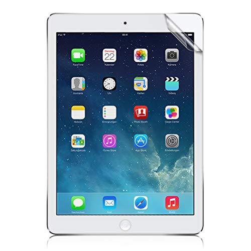 kwmobile Folie kompatibel mit Apple iPad Air/Air 2 - Full Screen Tablet Schutzfolie entspiegelt