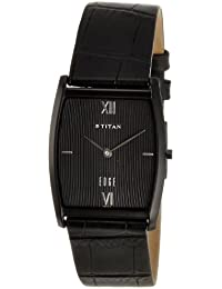 Titan Edge Analog Black Dial Men's Watch - NE1044NL01