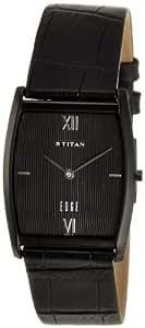 Titan Edge Analog Black Dial Men's Watch -NH1044NL01A