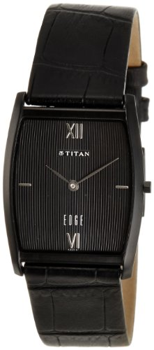 Titan Edge Analog Black Dial Men's Watch - NE1044NL01  available at amazon for Rs.8492