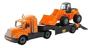 Polesie Polesie55743 - Remolque de Juguete para camión y Carga