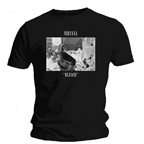 Nirvana - Camiseta - Bleach, Multi, Medium