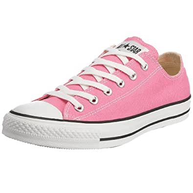 Converse Chuck Taylor All Star Shoes (M9007) Low Top in Pink, UK: 3 UK, Pink