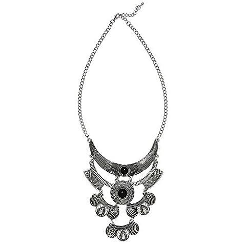 Knsam Collier Femme Pendentif Collier Turquoise Romantique And Design Gouttelettes
