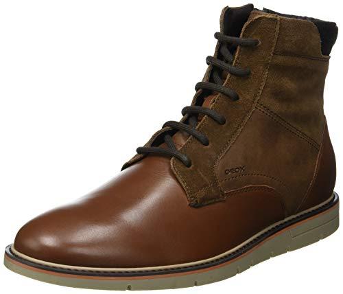 Geox Herren U UVET E Klassische Stiefel, Braun (Browncotto C6003), 44 EU