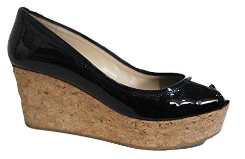Jimmy Choo - Zapatos Vestir Charol Mujer Negro Negro