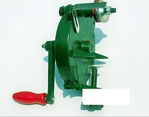 Messerschärfer Rad (Hand 990232 125 mm Vintage W Spitzmeissel Crancked Grinder Messer Messerschärfer Werkzeug/Rad)