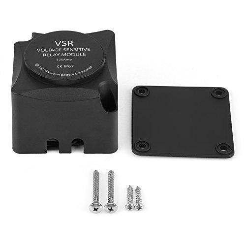 Keenso 140 Ampere Doppelbatterie Isolator VSR Spannungs empfindliches Relais automatisches aufladenrelais Lade-relais