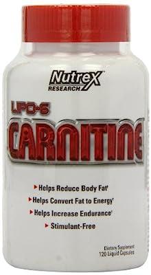 Lipo-6 Carnitine 120 liqui-caps from PREMIUM SUPPLEMENTS - USD
