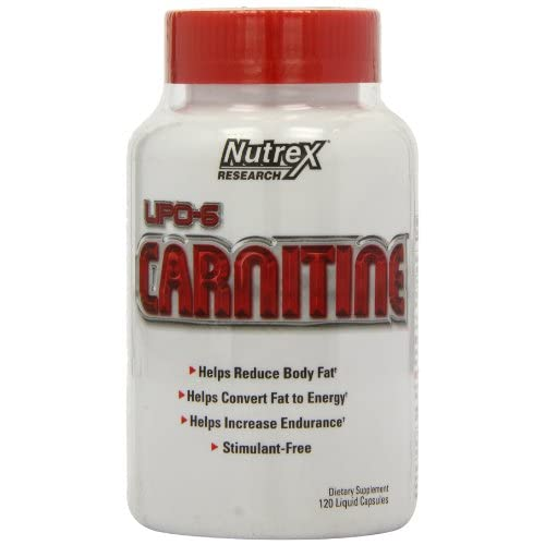 411NYxdmnhL. SS500  - Nutrex Research Lipo-6 Carnitine Standard Capsules, 120-Count