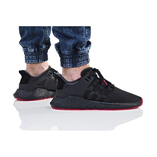 adidas Herren EQT Support 93/17 Sneaker Schwarz (Core Black/core Black/core Black)