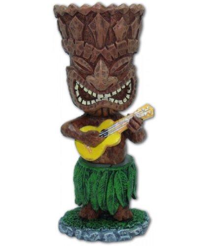 Hawaiian-salpicadero-en-miniatura-mueca-Tiki-con-ukelele