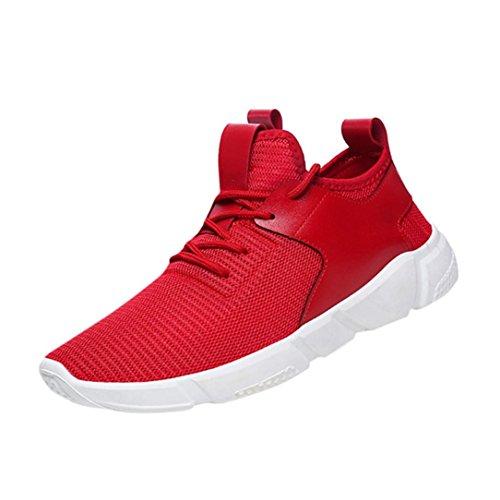 Sky Herren Outdoor Fitnessschuhe, Rot - Rot - Größe: 42 Größe 4 Baby Boy Nike Schuhe