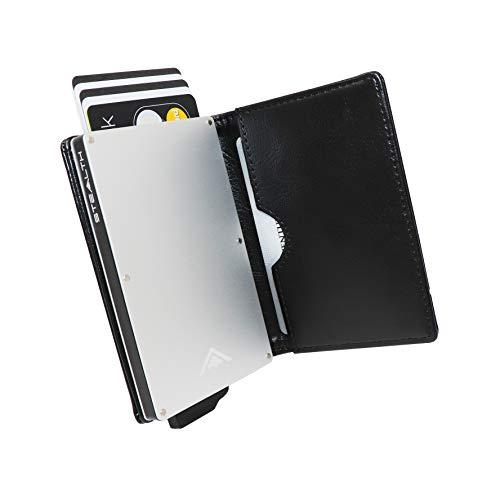 *** *** Exclusivo a Amazon de aluminio RFID El bloqueo de la tarjeta de crédito de la carpeta a escondidas Este es el super cool, titular de la tarjeta de crédito, súper delgado ligero con sigilo. Ideal para uso diario o incluso en sus pantalones vaq...