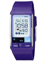 Casio LDF-52-6AEF - Reloj digital de cuarzo para mujer, correa de plástico color morado