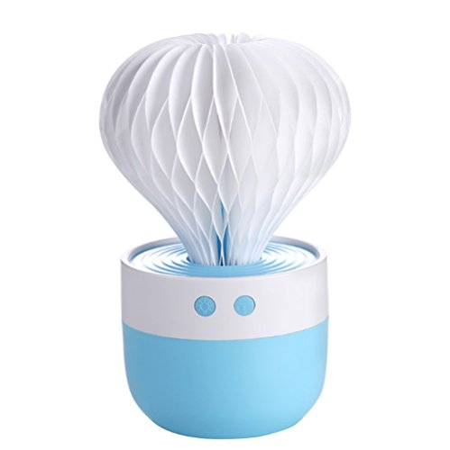 XZ-2ultrasónico Humidificador Humidifier Dormitorio Baby fríos Niebla Purificador de aire 150ml temporizador auto Shut Off con luz nocturna de carga USB chnittstelle–Humedecedor para bebés Oficina