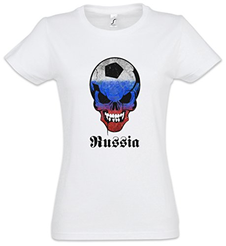 2xl Taglie Girlie Donna Skull – Xs Football T Women Russia Shirt tsdCQrh