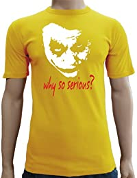 Joker-why so serious? touchlines t-shirt coupe slim