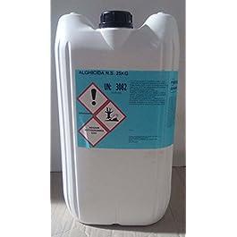 cubex professional Antialghe Non schiumogeno per Pulizia Acqua Piscina alghicida kg 10