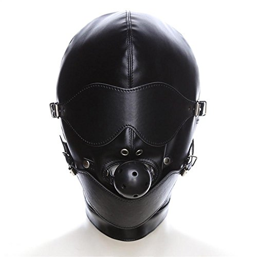 Damen sexy Maskenspiel Karneval Party Ball Gesicht Augenmaske SM055 Ball Gag, Cosy-L