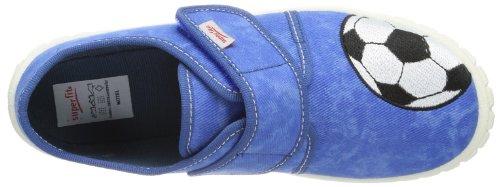 Superfit Bill 20027384 Jungen Hausschuhe Blau (bluet 84)