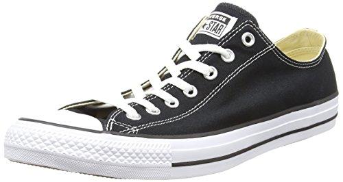 CONVERSE Chuck Taylor All Star Seasonal Ox, Unisex-Erwachsene Sneakers, Schwarz (Black), 39.5 EU