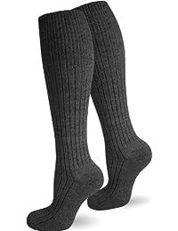 5 Paar Original POLAR HUSKY® Schafwollsocken / Arbeitssocken / Socken mit dicker Plüschsohle