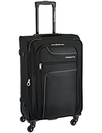Pronto New Yorker Polyester 68 cms Black Softsided Suitcase (6499 - BK)