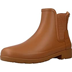 Hunter Women Original Chelsea Pluton WFS1017RMA PTO, botas de agua color camel, 36