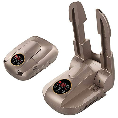 WWDDVH Desodorierende Und Sterilisierende Schuhtrockner/Intelligente Schuhtrockner/Teleskop-Timer-Trockner Braun