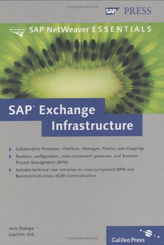 SAP Exchange Infrastructure by Jens Stumpe (2005-02-28) par Jens Stumpe;Joachim Orb