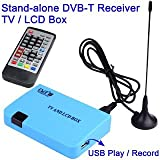 DECODER MINI DVB-T DIGITALE TERRESTRE USB REC MONITOR USCITA VGA
