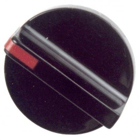 Mando grifo gas encimera Balay negro diametro Eje 6 mm E-3130