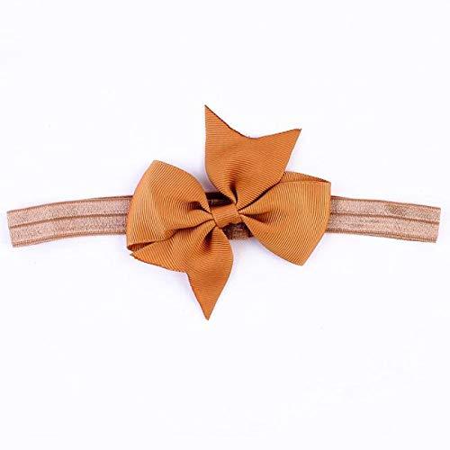 Mädchen Elastische Stirnbänder, TTWOMEN Damen Blumendruck Headwrap Twist Knoten Haarband Fotografie Turban Haar Zubehör (Khaki) -