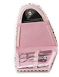 SODIAL(R) 4 en 1 Kit Manucure Pedicure Ongles Outils En Acier Inoxydable Trousse Sac