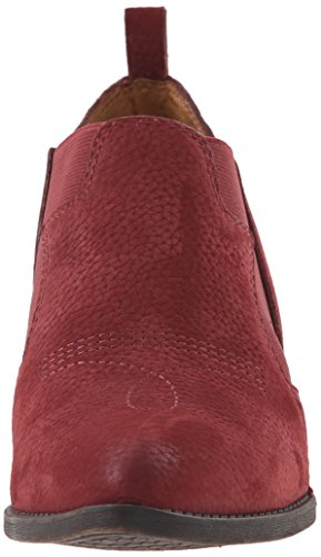 Lucky Brand Joelle Femmes Cuir Bottine Ruby Wine