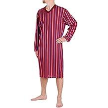 nuovo concetto 30d9d ceff4 camicia da notte uomo - 1 stella e più - Amazon.it