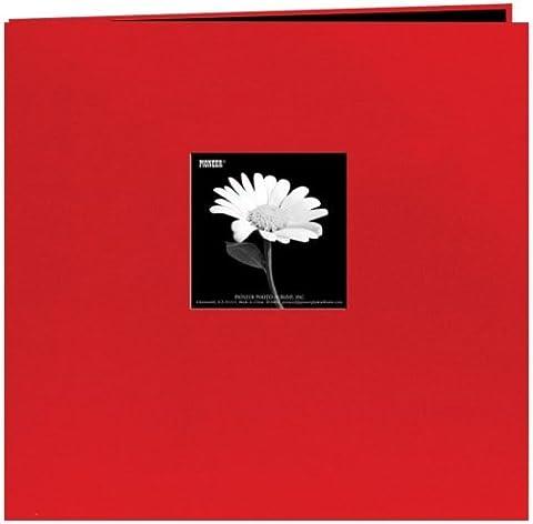Pioneer MB88CB-F / R du livre en tissu Album Cover Postbound Avec Window 8 x 8 pouces