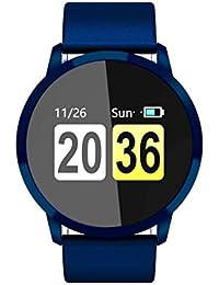 HD Pantalla táctil a Color Smartwatch IP67 Impermeable Sport Fitness Podómetro Monitor de Ritmo cardíaco Moda Smartband - Azul