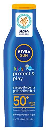 NIVEA Fp50 + Kid 200 Ml. Produits Solaires