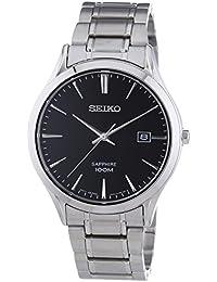 Seiko Herren-Armbanduhr Analog Quarz Edelstahl SGEG95P1