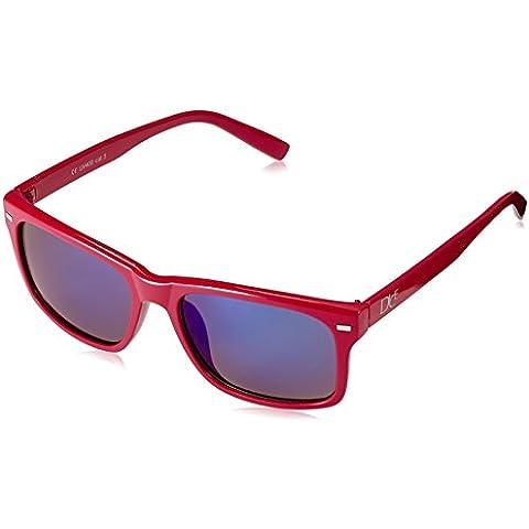 Dice occhiali da sole Unisex Multicolore Shiny Red/Blue Revo Taglia unica