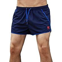 ChallengE Pantaloncini Uomo,Uomini Shorts Estivi Pantaloncini Corti da Uomo Palestra Costume da Bagno Teschio 3D Stampato Pantaloni Sportivi da Jogging Pantaloncini da Spiaggia