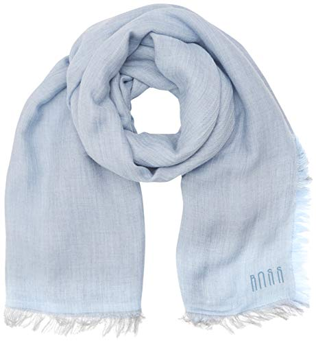 BOSS Casual Damen NALU1 Schal, per pack Blau (Light/Pastel Blue 450), One Size (Herstellergröße: STCK)