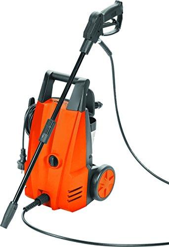 Clatronic 282927 Limpiador de Alta presión, 90 Bares, 300 l/Hora, 1400 W, Negro/Naranja