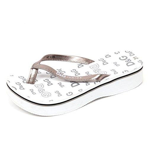 Dolce & Gabbana D1074 Infradito Bimba D&G JUNIOR Beachwear Sandal Shoe Kid [30]