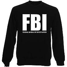 comprare on line 1f992 dc3bc Amazon.it: Felpa FBI