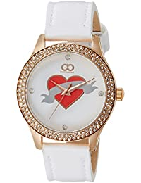 Gio Collection Analog Red Dial Women's Watch - AD-0056-C