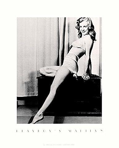 Earl Moran Poster Kunstdruck Bild Playboy's Marilyn Monroe I 50x40cm