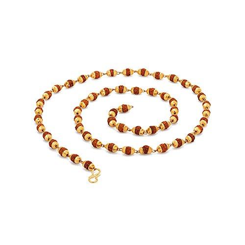 Voylla Chain Necklace for Men (Golden)(8907275767640)